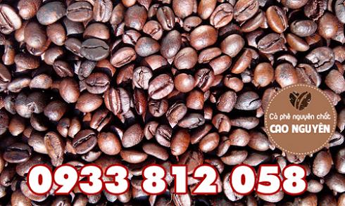 Cà phê mộc Robusta + Moka + Cherry giá sỉ