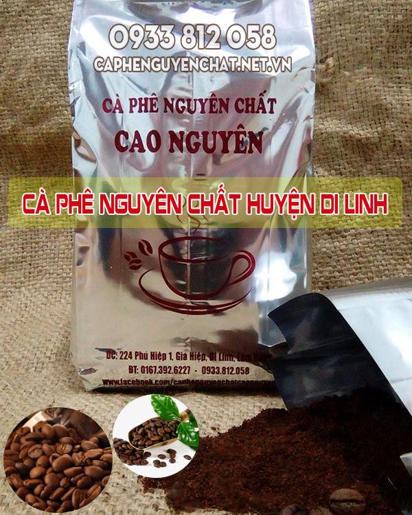 Cà phê nguyên chất huyện Di Linh