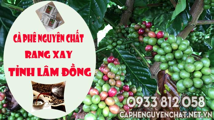 Cà phê nguyên chất rang xay Lâm Đồng