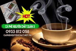 Cà phê nguyên chất quận 3 TPHCM