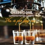 Cách pha cà phê số lượng nhiều