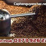 Lấy hàng cà phê nguyên chất tại xưởng