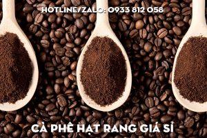 Cà phê hạt rang giá sỉ