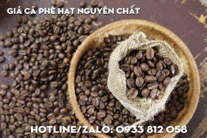 Giá cà phê hạt nguyên chất